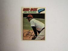 1977 Topps Cloth Test Issue #53 Carl Yastrzemski Rede Sox Mint Flash Sale