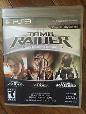 Tomb Raider: Trilogy (Sony PlayStation 3, 2011) No manual