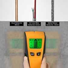 LCD Digital Wall Detector Metal Wood Studs Finder AC Cable Live Wire Scanner