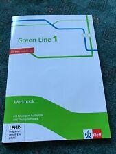 Green Line G9 1,2,3,4,5,6 Workbook mit Lösungen. Leistungsmessung auf Anfrage.