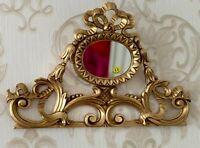 Decoración de Pared Oro Relieve Barroco 30x48cm Antiguo / Espejo Pasillo
