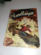 The Lone Ranger #32 dell comics 1951 original red shirt golden age western movie