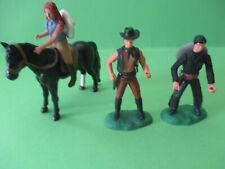 Elastolin Steckfiguren Umbauten Cowboy Lady