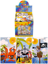 4 x Pirata Nota Pastiglie, per bambini PARTY Borsa Filler, idea regalo divertente