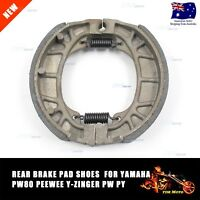 REAR Brake Shoes/Pad For Yamaha PW80 PY80 PW 80 PY 80 Y-Zinger 1983-2006