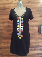 T Bags Bedazzled Tunic, Size M
