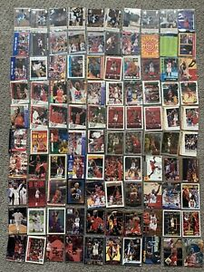 Huge Michael Jordan Lot of 100 Cards Ready For Grading - Nice Lot ALL DIFFERENT