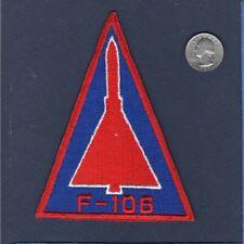 "Original F-106 DELTA DART USAF Convair Fighter Interceptor 5"" Squadron Patch RB"
