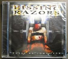 "PISSING RAZORS ""WHERE WE CAME FROM"" - CD - OVP"