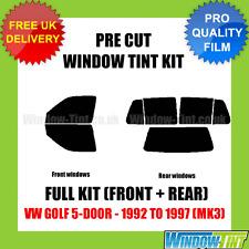 VW GOLF 5-DOOR 1992-1997 (MK3) FULL PRE CUT WINDOW TINT KIT