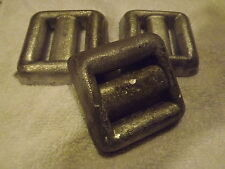 3-3lb Lead Dive Weights Great For Scuba Diving And Free Shipping
