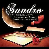 Secretamente Palabras de Amor by Sandro (CD, Feb-2007, Universal Music Latino)
