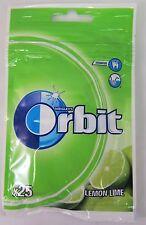 Wrigley's ORBIT chewing gum: LEMON LIME - 25 pieces