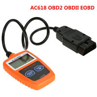 CarFault Code Reader Scanner Diagnostic OBD2 OBDII EOBD Engine Fault LCD display