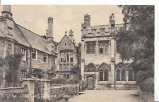 Somerset Postcard - The Chapel - Vicars Close - Wells Cathedral - Ref ZZ4514