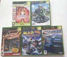 Paquete De Juegos De Xbox Originales/JOBLOT 5x Juegos Forza/Halo/Fábula