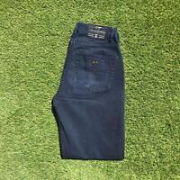 Vintage THOMAS BURBERRY Mens Chino Jeans 32 x 32 Dark Blue | 1990s Designer