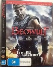 Beowulf IN PLASTIC 2 Disc DVD Directors Cut - Anthony Hopkins & Angelina Jolie