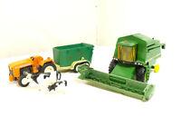 Playmobil etc Trattore con Rimorchio Mucche - John Deere Combine 2266 -