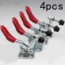 4pcs Metal Quick Clamp Quick Toggle Release Horizontal Toggle Clamps Tool YMZ