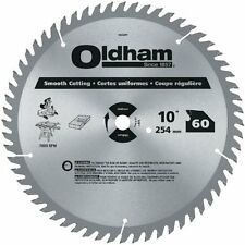 "Oldham- All Purpose 10""60 Tth ATB Crosscutting&Ripping Saw Blade w/ 5/8""Arbor"
