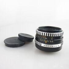 M42 Carl Zeiss Zebra Pancolar 1.8/50 Objektiv / lens