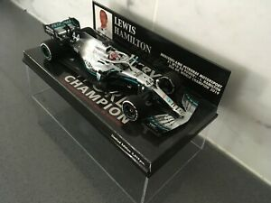 Lewis Hamilton 2019 Mercedes AMG W10 World Champion USA GP 1/43 Minichamps