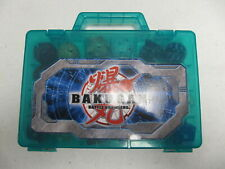 Bakugan Lot Of 24 Battle Brawlers With blue Carry Case