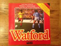 Watford v Oxford United - Division 1 Football Programme - Played 26/10/1985