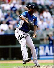 Enny Romero Tampa Bay Rays Top Prospect Signed 8x10 Photo with LOM COA er2