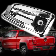 For 15-16 Colorado Plastic Chrome Tailgate Handle Cover With Camera Cutout 3 PCS