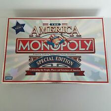 America Monopoly Special Edition 2002 Complete Game Parker Brothers 8 To Adult