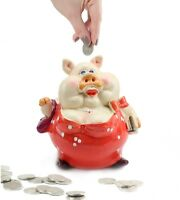 Novelty Pig Saving Box Coin Bank Money Saving Bank Toy Bank Piggy Bank