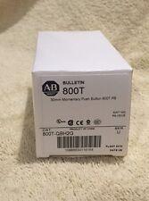 New! Allen-Bradley 800T-QBH2G Illuminated Pushbutton 30MM Green LED Momentary