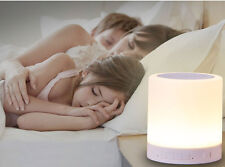 Touch Lamp & Bluetooth Speaker Good Sound Performance HandsFree w/hanging buckle
