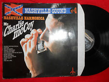 Charlie McCoy. 33T French Vinyle. 1975. NASHVILLE SOUND. Country Harmonica.