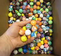 """10 NEW SUPER HIGH BOUNCE BALLS 27MM 1"""" HI BOUNCY SUPERBALL PARTY FAVORS CAT TOY"""