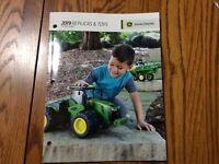 RARE New 2019 John Deere Full size Ertl Toy Book 100 Years Of Tractors