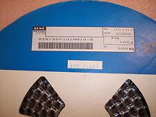 QTY (500) 100uf 35V 125' HI TEMP SMD ELECTROLYTIC CAPACITORS RTK35V101MH10 ELNA