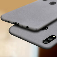 For Huawei Honor 8X 8 9 10 Lite Ultra Slim Sandstone Hard Shell Back Cover Case