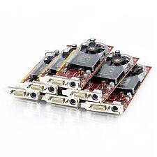 Lot of 6 Dell ATI Radeon HD 3450 256MB DDR2 PCIe x16 DMS-59 LP Video Card Y103D