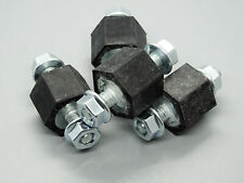4x Support Matériau de Caoutchouc Intercooler avec Écrous Pour Galaxy Alhambra