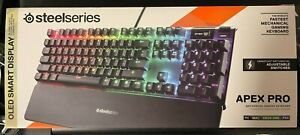 SteelSeries 64626 Apex Pro OLED Illuminated Wired Keyboard