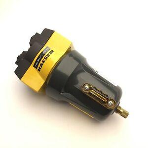 "Kaeser Compressors KOX-20 Compressed Air Filter, 250PSI MAX, 1/2""NPT, w/Filter"