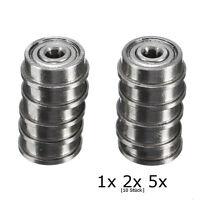 10x Kugellager F623ZZ F623 ZZ # 3x10x4 mm # Modellbau Ball Bearing # mit Bund
