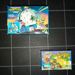 Teenage Mutant Ninja Turtle Repro Box 1:12 Mini Party Wagon Technodrome TMNT