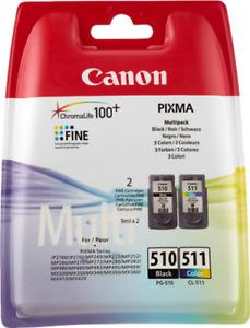 Originale Canon Multipack nero / differenti colori PG-510 + CL-511 2970B010