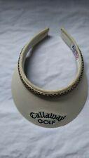 Callaway Golf Women's Sun Clip Visor Hat Texace Texann patent #4,586,713 Vintage
