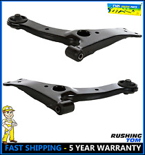 2 New Front Lower Control Arms Pair fits Pontiac Vibe Toyota Corolla Matrix Kit