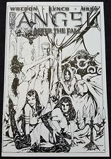 ANGEL AFTER THE FALL 2 VARIANT 1:10 RARE Urru Sketch Cover NM not 1 HERO 3 4